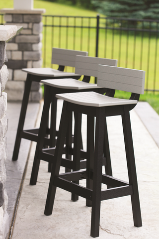 Saddle Bar Stool Back Kit