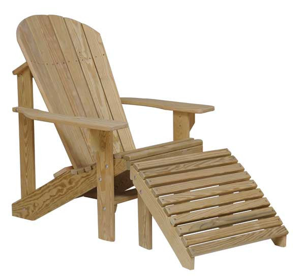 Treated Southern Yellow Pine Adirondack Chair