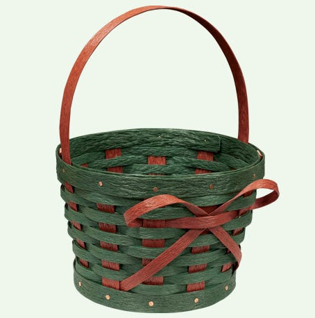 "10"" Christmas Basket - Krasco Baskets"