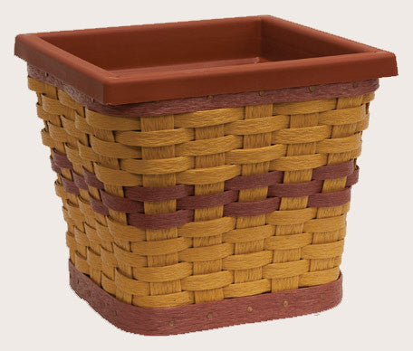 Square Basket Sleeve with Pot
