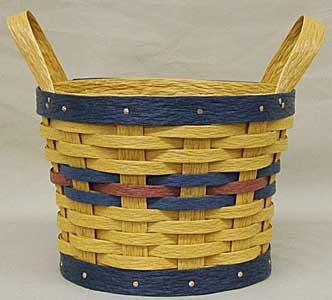 "10"" 2 -Handle Basket Sleeve - Krasco Baskets"