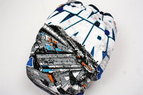 HYBRID- Star Wars Falcon with blue cv- turned