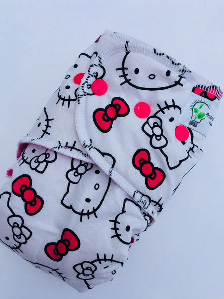 HYBRID- Hello Kitty with Pink cv- serged