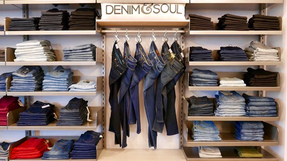 Picture of Clothing Display at Retail Store