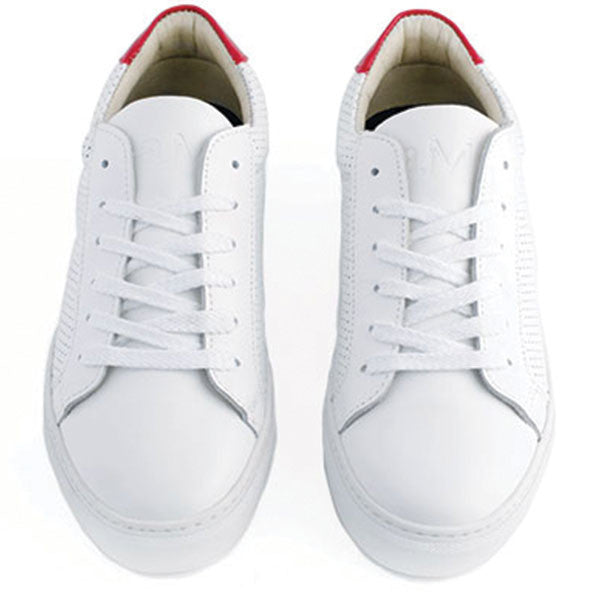 White Red Sneakers