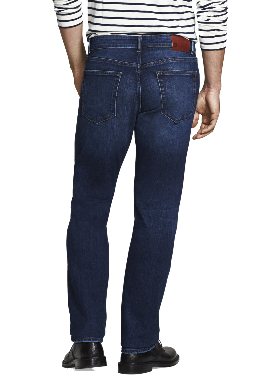 Product Shot of Denim and Soul's Avery ML Modern Straight Jean Recruit; Front