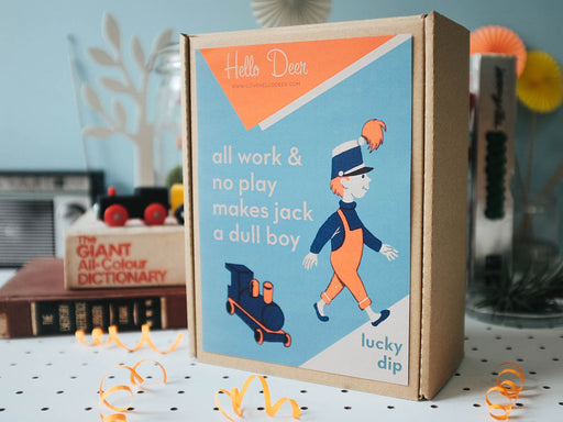 Lucky Dip No.4 : All work & no play makes Jack a dull boy