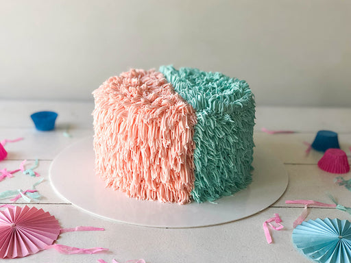Surprise Gender Cake Fuzzy Wuzzy