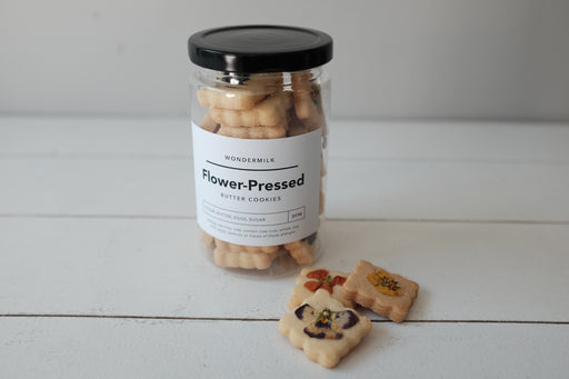 Flower Pressed Butter Cookies - 5 Jars