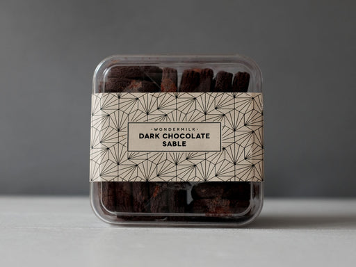 Dark Chocolate Sable - 5 Jars