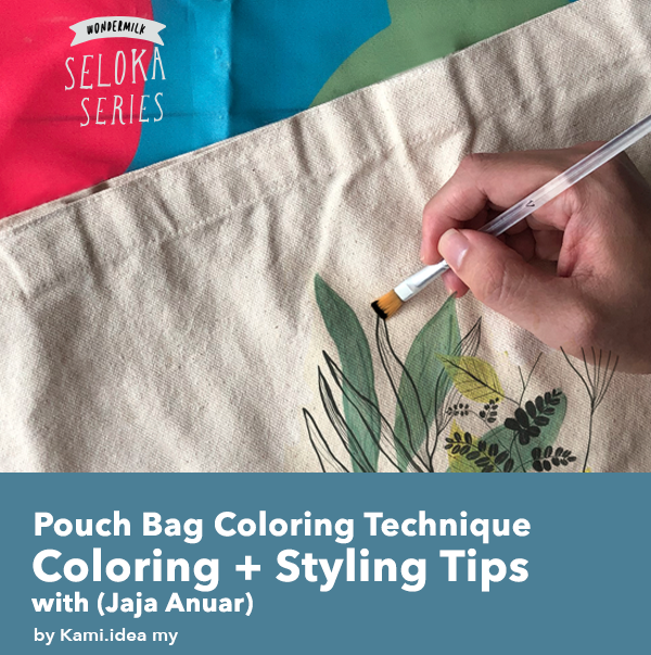 Pouch Coloring + Styling Tips