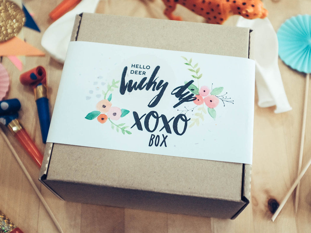 Lucky Dip No.1 : XOXO Box