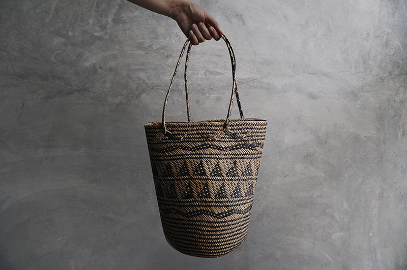 Rattan Borneo Basket Shopper