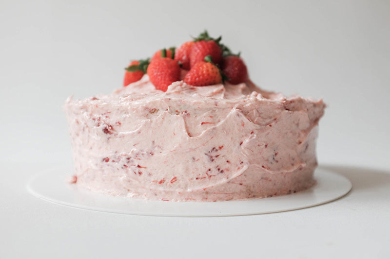 Strawberry Cream Cheese Swirl