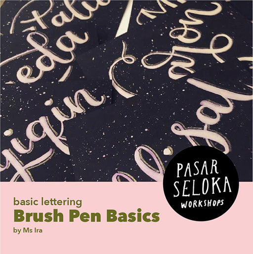 Brush Lettering - Brush Pen Basics
