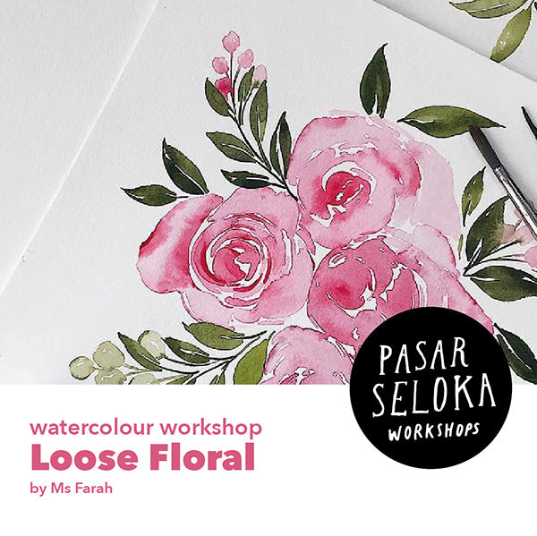 Watercolor Workshop - Loose Floral
