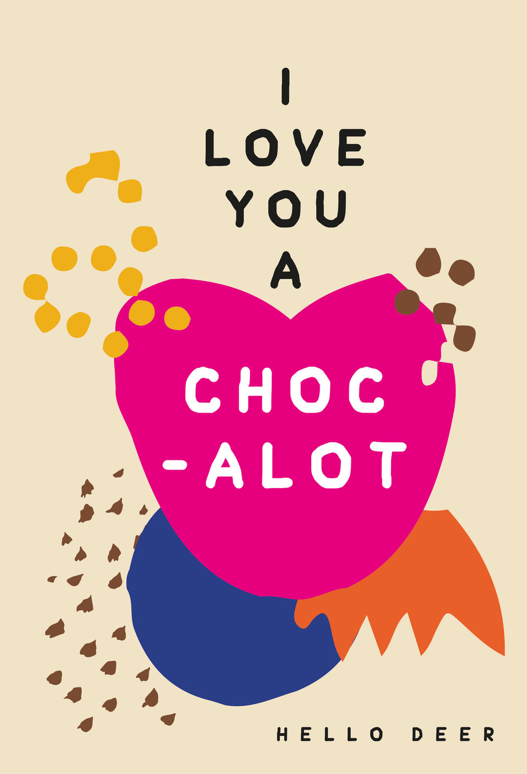 Lucky Dip No.9 : I Love You A Choc-Alot