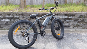big cat fat cat electric bike with cruiser handle bars