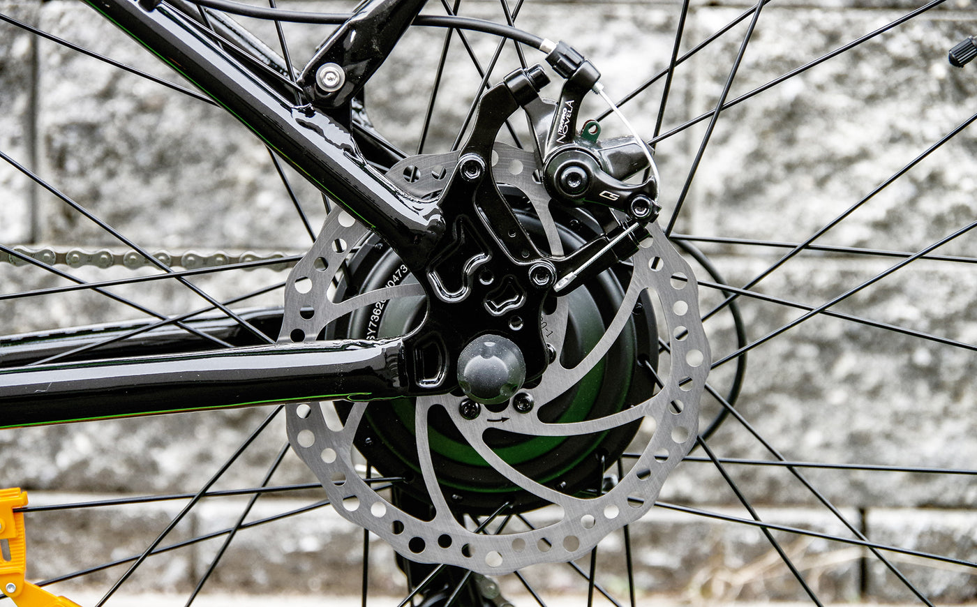 big cat ebike disc brakes