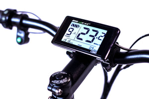 big cat bafang C961 LCD display HUD. Electric bike Lcd display for speed, battery, and distance