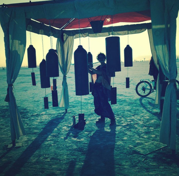 Electric Bicycles At Burning Man