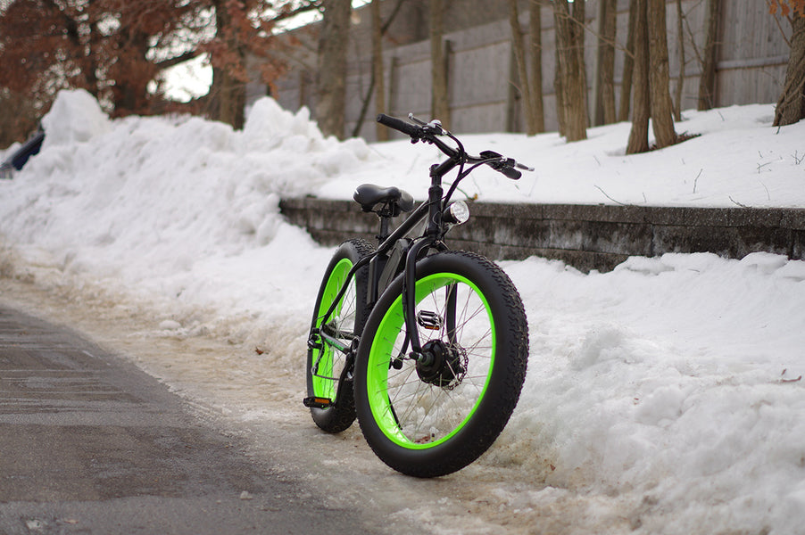 Can I Ride My Electric Bike In the Snow?