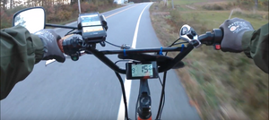 electric fat bike battery range review ebike by big cat