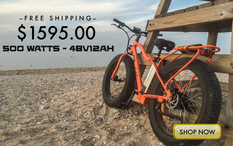 big cat fat cat xl 500 electric fat bike