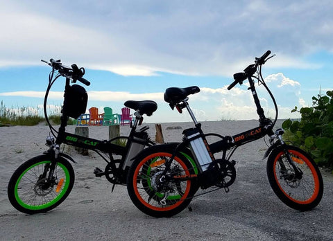 big cat alley cat folding electric bike