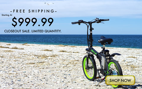 big cat hampton folding electric bike