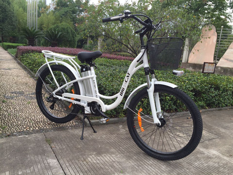 2018 big cat long beach cruiser 500 electric beach cruiser ebike electric bike