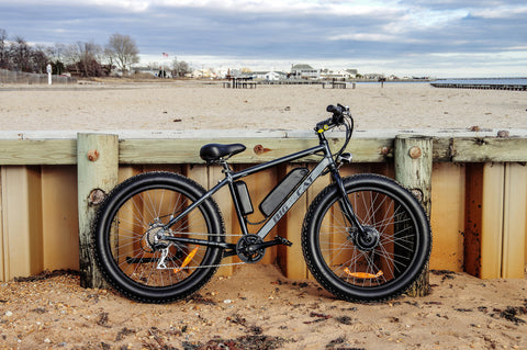 2017 big cat fat cat front wheel drive fat bike. electric bike
