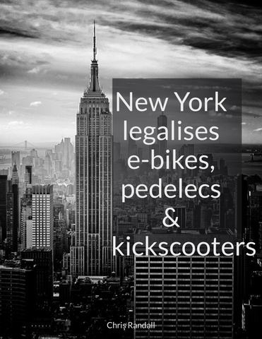 New York legalizes e-bikes