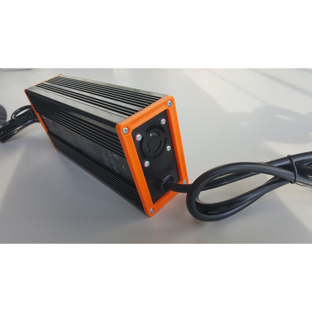 Big Cat electric bike fast charger for 48V lithium ion battery ebike