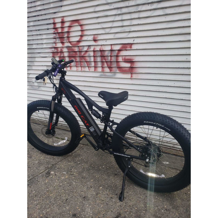 Big Cat Rocky XL 500w Fat Tire! Top Seller! (Dual Suspension)