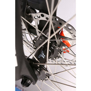 Sedona electric mountain bike front disk brake