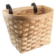 Classic Wooden Basket - - Accessories Big Cat Electric Bikes