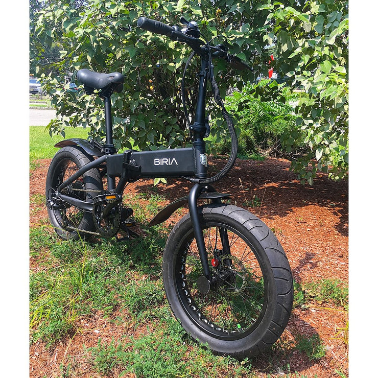 biria electric folding bike outside rear