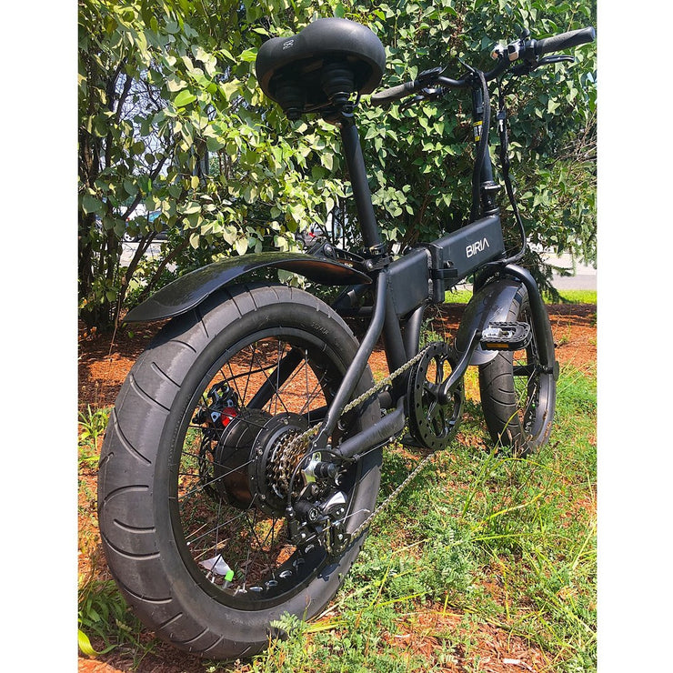 biria electric folding bike outside front