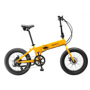 biria electric folding bike yellow