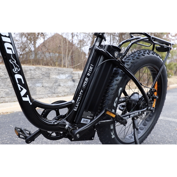 2019 Big Cat® Long Beach Cruiser Xl 500 Electric Fat Bike - - Big Cat Electric Bikes