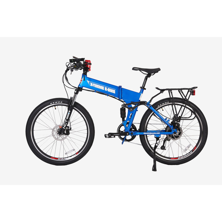 Big Cat Baja 500x- (Folding Mountain Bicycle) Full Suspension! ETA 8-15