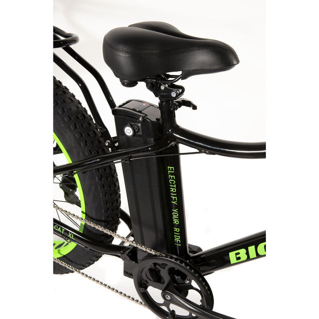BIG CAT® 2019 Fat Cat XL 500 Watt Fat Tire Electric Bicycle (in Stock)