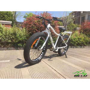 BIG CAT® 2019 Fat Cat XL 500 Watt Electric Bicycle (fat tire) in Stock!