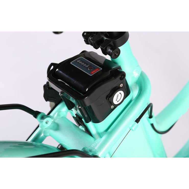 Big Cat Malibu Elite Max 36 Volt Beach Cruiser Electric Bike by X-Treme