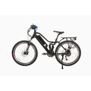 Sedona electric mountain bike black left side