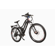 Sedona electric mountain bike black right side angle