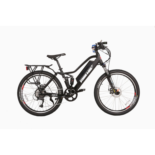 Sedona electric mountain bike black right side