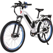 Sedona electric mountain bike white left side angle