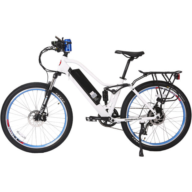 Sedona electric mountain bike white left side